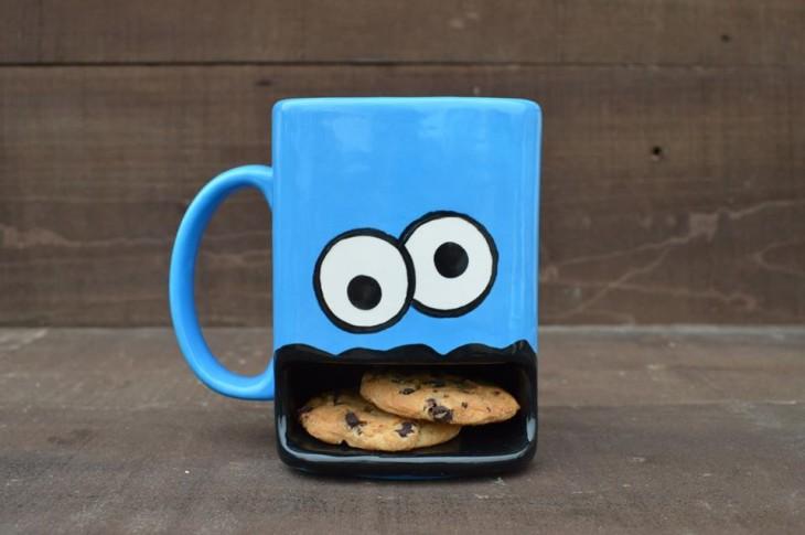 Tazas-creativas-monstruo-galletas